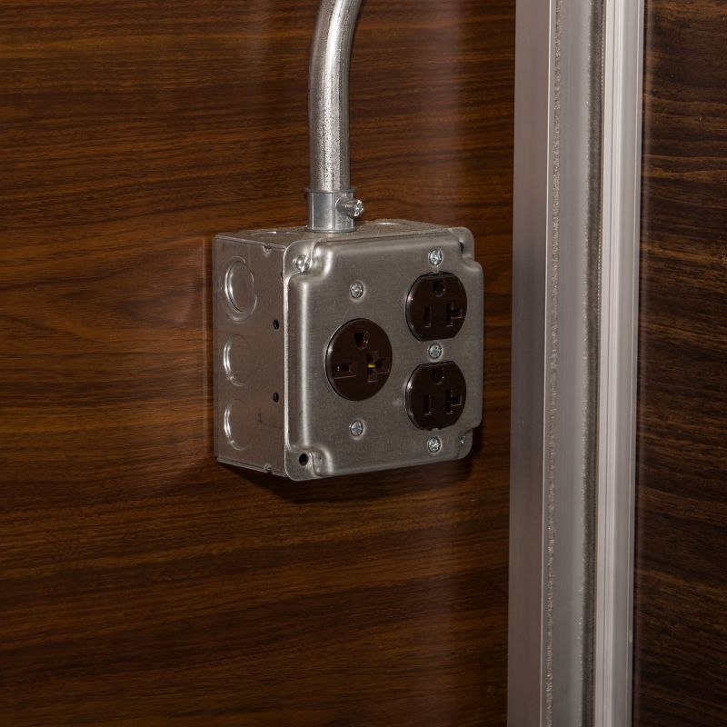 Surface Mounted Electrical Outlet